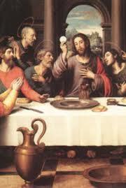 lum institution of Eucharist